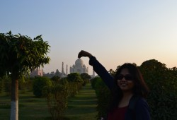 Our Rendezvous With The Seventh Wonder Of The World- Agra